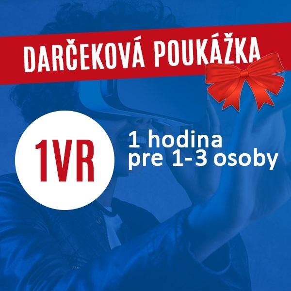 FUN  >> 1VR 1hod        Darčeková poukážka