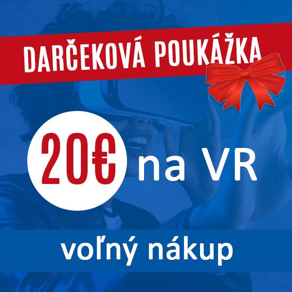 Voľný nákup v hodnote 20€ Darčeková poukážka