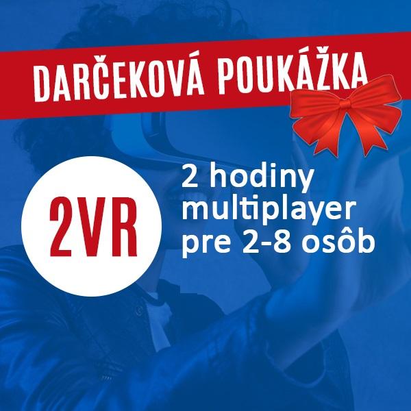 Multiplayer++  2VR 2hod Vstupenka