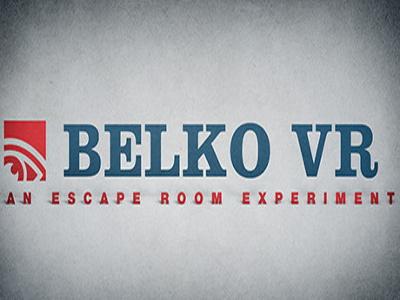 Belko VR: An Escape Room Experiment