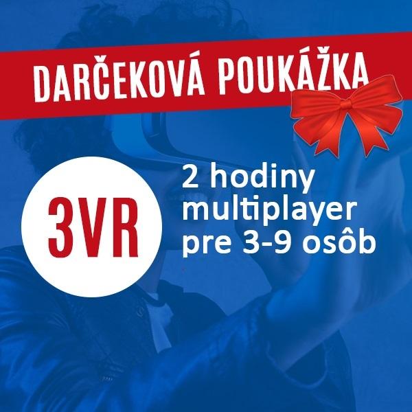 Oslava >> 3VR 2hod Darčeková poukážka